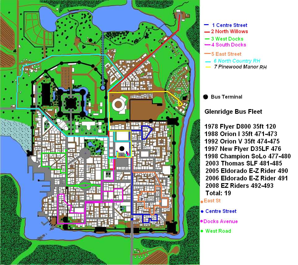 Gta Vice City Bus Route Map Maps list GTA VC Grand Theft Auto Vice