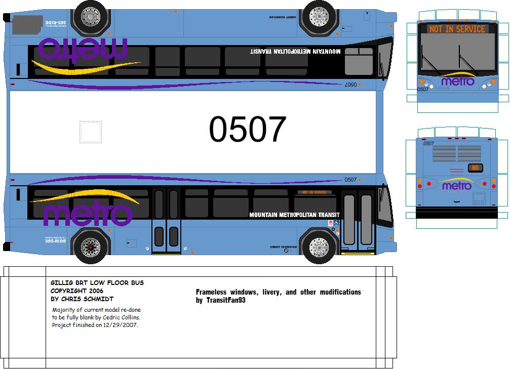 Essay on metro bus service