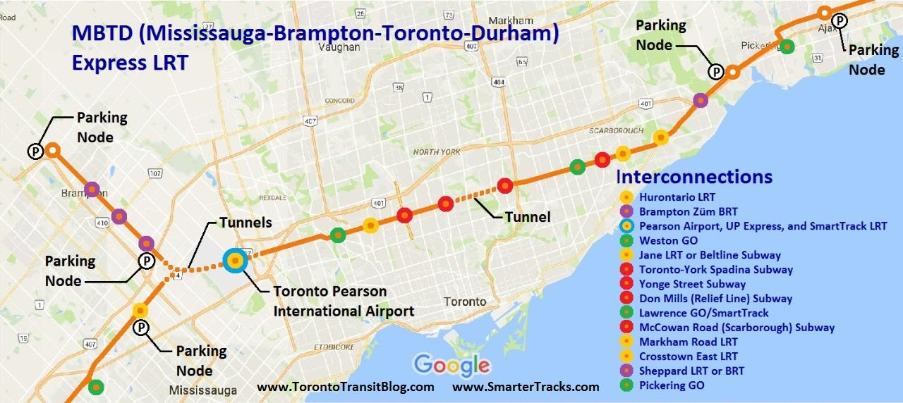 Fantasy Toronto Subway Map.Fantasy Gta Transit Maps Page 8 Greater Toronto Area Canadian