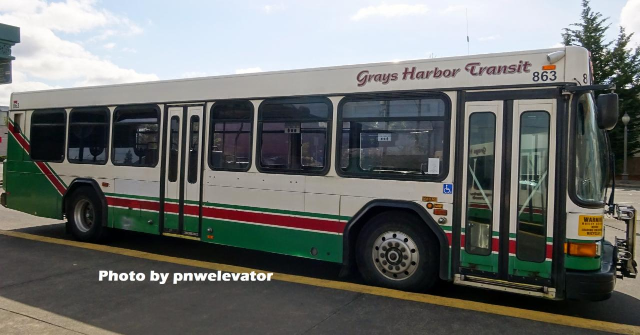 Grays Harbor Transit Photos For Wiki Aberdeen Hoquiam Wa Content Changes And Additions Canadian Public Transit Discussion Board