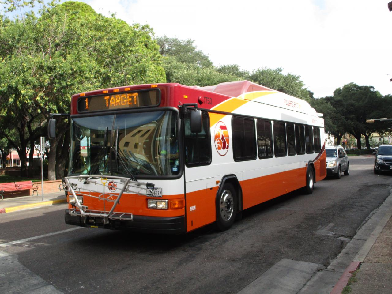 El Metro Transit Laredo Texas Central Us Canadian