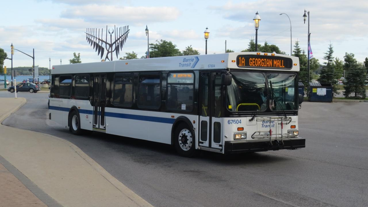 how to pay for barrie transit