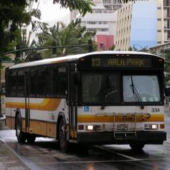 The bus Honolulu hunters