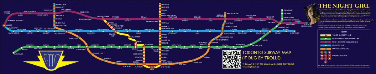 Fantasy Toronto Subway Map.Fantasy Gta Transit Maps Page 7 Greater Toronto Area Canadian