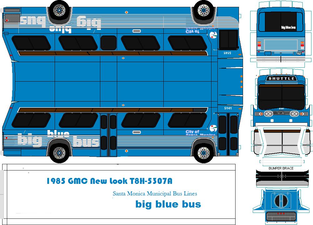 Rhode Island Big Blue Bus