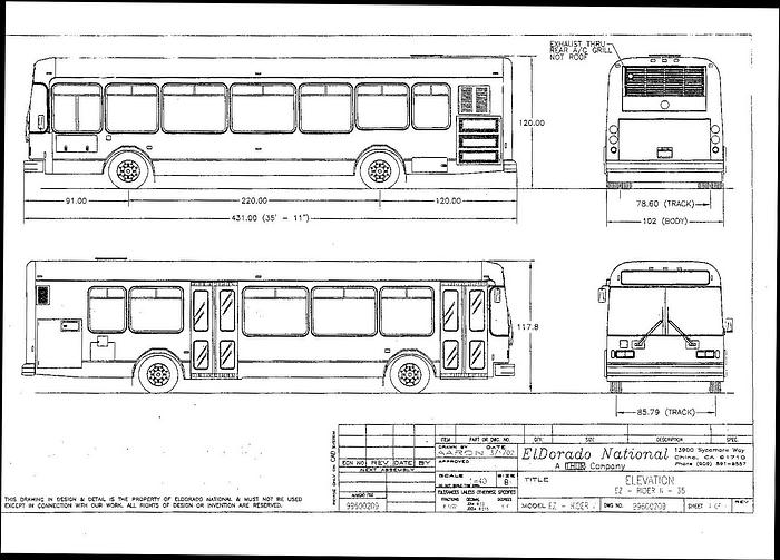 Bus Blueprints  - General Vehicle Discussion