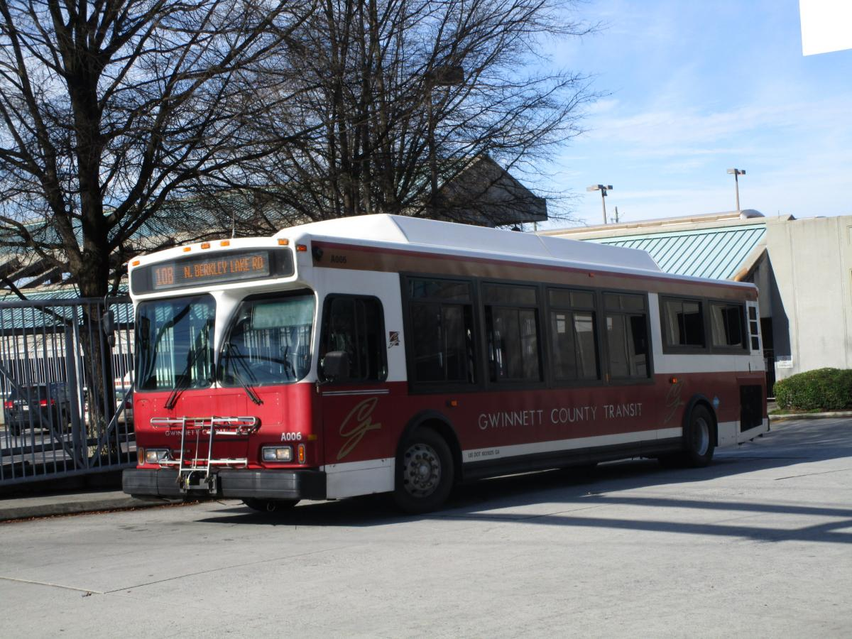 gwinnett county transit - eastern us - canadian public transit