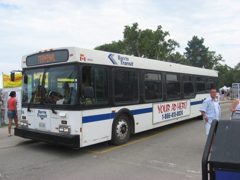 Barrie Transit logo pointing right