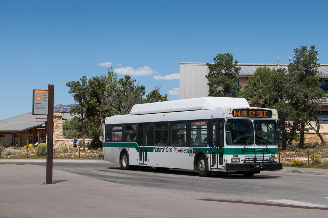 Grand Canyon Shuttle C-7 on Kaibab Rim Route
