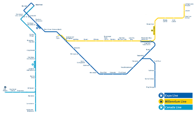 Skytrain expo line history betting afl betting odds round 17 to the nearest