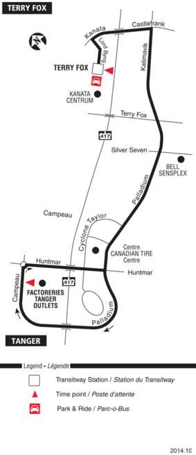 Ottawa Carleton Regional Transit Commission Route 196