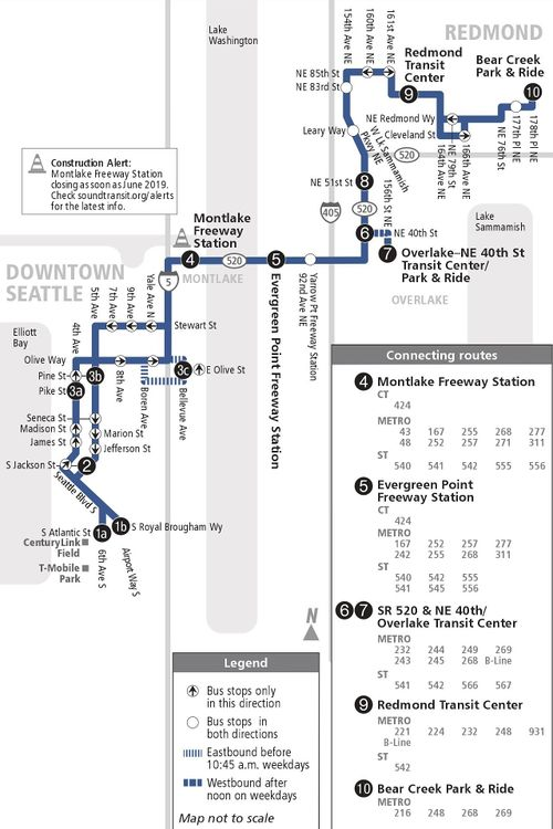 Sound Transit Route 545 Redmond Seattle Cptdb Wiki