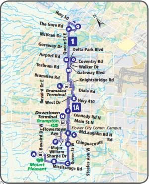 Brampton Transit Map Brampton Transit Map | compressportnederland Brampton Transit Map