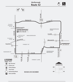 Calgary Transit route 42 (12-2010).png