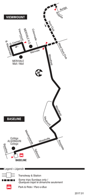 Ottawa Carleton Regional Transit Commission Route 156