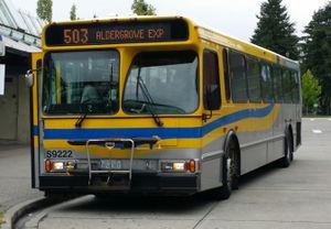 Coast Mountain Bus Company Route 503 Aldergrove Surrey