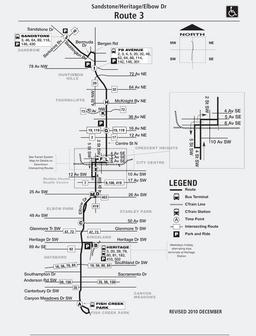 Calgary Transit Route 3