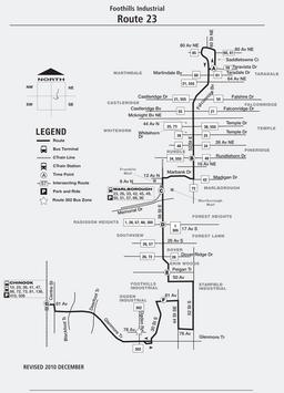 Calgary Transit Route 23