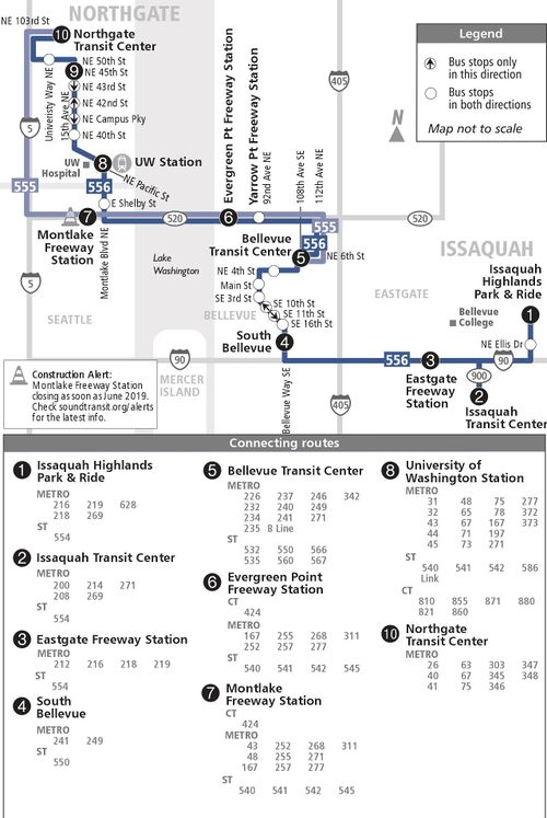 Sound Transit Route 555 Issaquah Northgate Cptdb Wiki