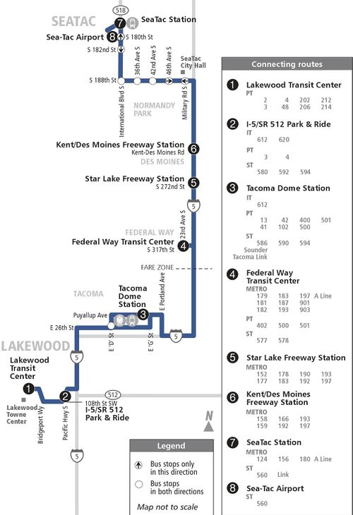 Sound Transit route 574 'Lakewood / SeaTac' - CPTDB Wiki