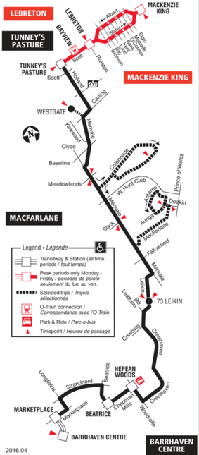 Ottawa Carleton Regional Transit Commission Route 176